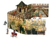 Сборная модель из картона Крепостная стена серии Средневековый город от Умная бумага (Умбум)