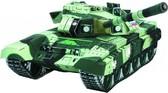 Сборная игровая модель из картона Танк российский Т-90 серии Военная техника от Умная бумага (Умбум)