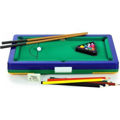 Игровой мини-набор 5 в 1: бильярд, баскетбол, футбол, файр-шутер (+ снукер).Toys&Games