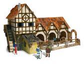 Сборная модель из картона Конюшня серии Средневековый город от Умная бумага (Умбум)