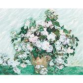 Ваза с розами. Ван Гог, 40х50см