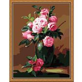 Букет из чайных роз, 40х50см