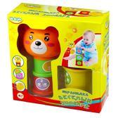 Детская игрушка Пирамидка - Веселый зоопарк. BeBeLino от BeBeLino (Бебелино)