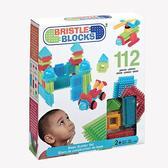 Конструктор-бристл - СТРОИТЕЛЬ (112 деталей, в коробке) от BRISTLE BLOCKS