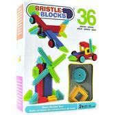 Конструктор-бристл - СТРОИТЕЛЬ (36 деталей, в коробке) от BRISTLE BLOCKS
