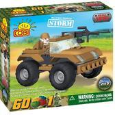 Конструктор Транспортное средство Шторм серии Армия (60 элементов)