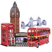 Трехмерная головоломка-конструктор 'Экскурсия по Лондону'. CubicFun от CubicFun (Кубикфан)