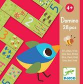 Игра настольная детская домино Один Два Три от DJECO (Джеко)