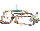 Железная дорога с поездом, 101х88см. LiXin от LiXin