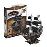 Трехмерная головоломка-конструктор 'Месть королевы Анны-Корабль черной бороды' от CubicFun (Кубикфан)