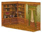 Румбокс для коллекционного набора мебели Кабинет от Умная бумага (Умбум)