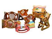 Коллекционный набор сборной мебели из картона Детская от Умная бумага (Умбум)