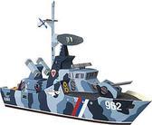 Сборная игровая модель из картона Ракетный катер Удалой серии Военная техники от Умная бумага (Умбум)