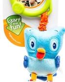 Подвижная игрушка из ткани. Bright Starts, сова от Bright Starts (Брайт Старс)