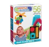 Конструктор-бристл - СТРОИТЕЛЬ (56 деталей, в коробке) от BRISTLE BLOCKS