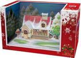 Трехмерная головоломка-конструктор Волшебная коробка: Рождественский коттедж от CubicFun (Кубикфан)