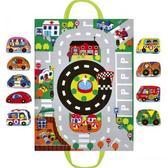 Набор мягких авто Машины в городе (в наборе игровой коврик). Ks Kids от K S KIDS