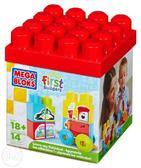 МБ Серия First Builders. Набор конструктора Изучаем транспорт;14дет.;18М+ от Mega Bloks (Мега Блокс)