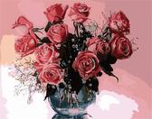 Розовые розы 2, 40х50см