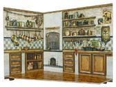 Румбокс для коллекционного набора мебели Кухня от Умная бумага (Умбум)
