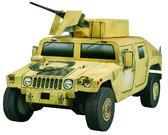 Сборная игровая модель из картона HMMWV серии Автомобили от Умная бумага (Умбум)