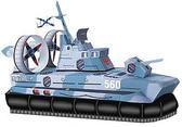 Сборная игровая модель из картона Катер на воздушной подушке серии Военная техники от Умная бумага (Умбум)