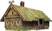 Сборная модель из картона Кутузовская изба в Филях от Умная бумага (Умбум)