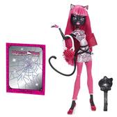 Кукла серии Новый страхоместр Monster High Кетті Нуар ( Catty Noir ) от Monster High (Монстр Хай)