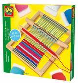 Набор для плетения - ТКАЦКИЙ СТАНОК МАКСИ (станок, нитки) от Ses (Ses creative)
