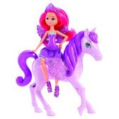 Набор Мини-принцесса и Пегас из м/ф Барби: Марипоса и Принцесса фей в ас.(3)