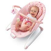 Музыкальное кресло-качалка розовое от Bright Starts (Брайт Старс)