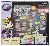 Игровой набор 4 зверюшки с аксессуар. от Littlest Pet Shop Hasbro (Литлест Пет Шоп Хасбро)