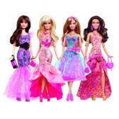 Кукла Барби в вечернем платье в ас.(4)