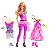 Кукла Барби с набором Большой гардероб в ас. (2)