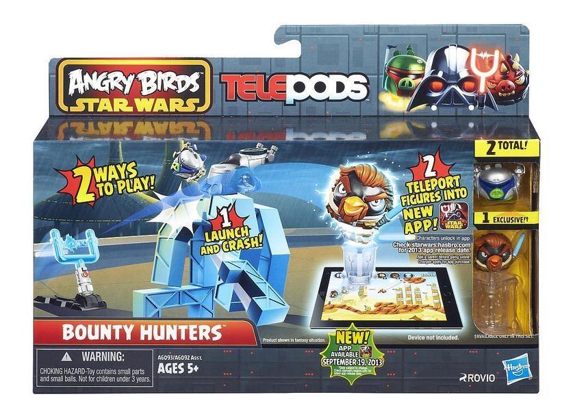 Игровой набор Angry Birds Дженга: Битва, Bounty Hunters