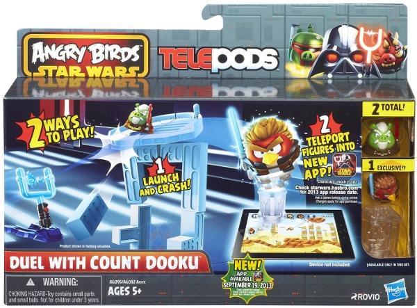 Игровой набор Angry Birds Дженга: Битва, Count Dooku