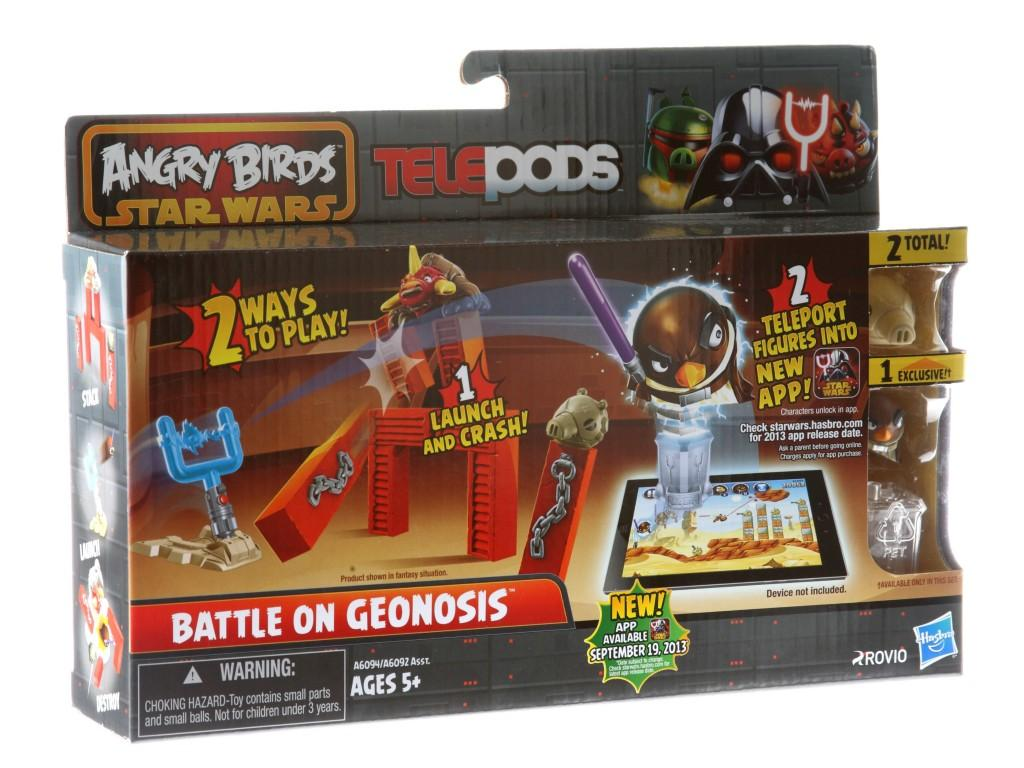 Игровой набор Angry Birds Дженга: Битва, Battle on Geonosis