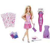 Кукла Барби с набором Блестящая дизайн - студия