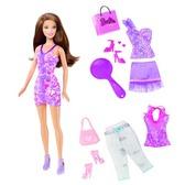 Кукла Барби с набором Стильный гардероб в ас. (2)