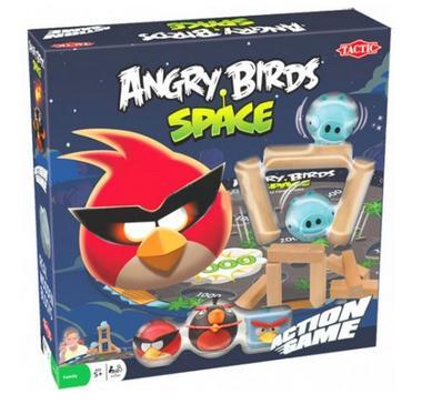 Детский набор для настольной игры Angry Birds Space