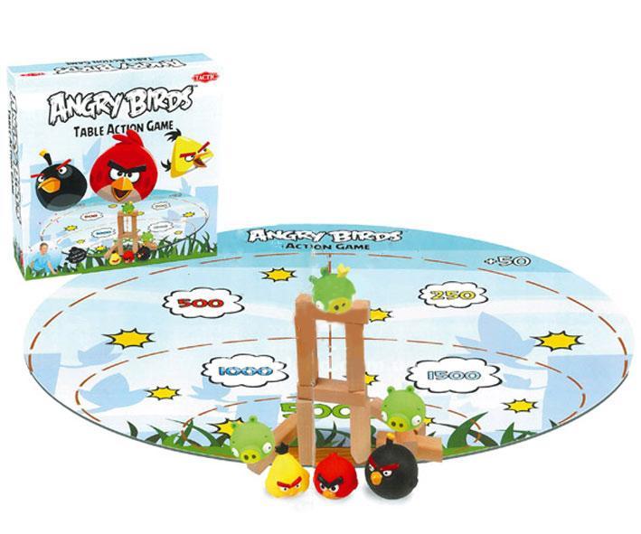 Детский набор для настольной игры Angry Birds Tactic Games