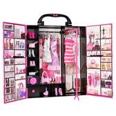 Шкаф-чемодан для одежды Модница от Barbie (Барби)