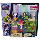 Игровой набор 2 модницы зверюшки с аксессуар., На шоу от Littlest Pet Shop Hasbro (Литлест Пет Шоп Хасбро)