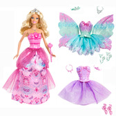 Принцесса Барби в сказочных костюмах