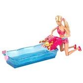 Набор Барби Водные гонки щенков