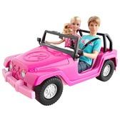 Набор Барби и Кен в джипе