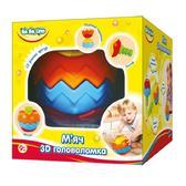 Детская игрушка Мяч 3D головоломка;9М+;укр.упаковка от BeBeLino (Бебелино)