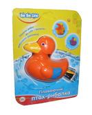 Игрушка для игр в воде Плавающая птица-рыболов;3+;укр.упаковка, Утка от BeBeLino (Бебелино)