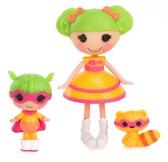 Набор с куклой MINILALALOOPSY серии Сестрички- ДИНА ВЕЛИКОЛЕПНАЯ И КРОШКА ДИНА от Lalaloopsy (Лалалупси)