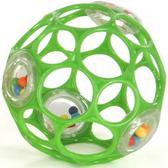 Мяч OBall с погремушкой, зеленый от OBall